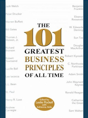 cover image of The 101 Greatest Business Principles of All Time