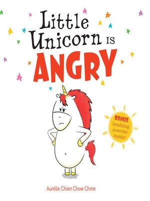cover image of Little Unicorn Is Angry