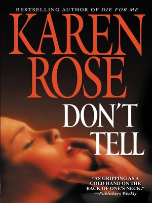 cover image of Don't Tell