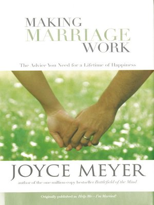 cover image of Making Marriage Work