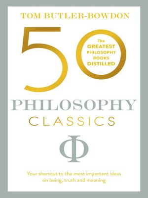 cover image of 50 Philosophy Classics