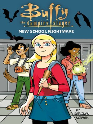 cover image of Buffy the Vampire Slayer: New School Nightmare