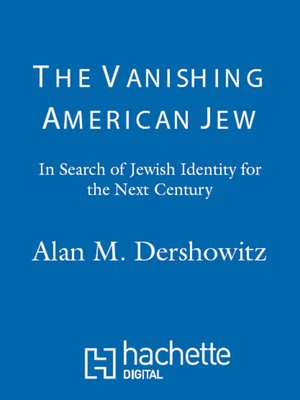 cover image of The Vanishing American Jew