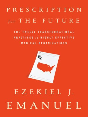cover image of Prescription for the Future