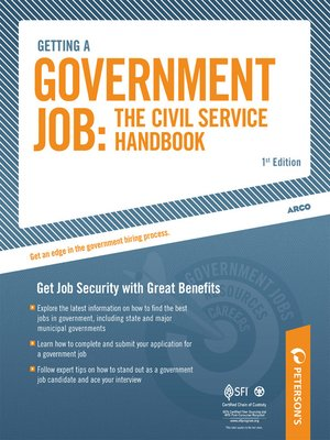 cover image of Getting a Government Job--The Civil Service Handbook