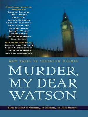 cover image of Murder, My Dear Watson