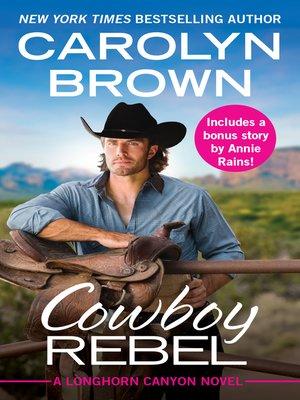 cover image of Cowboy Rebel