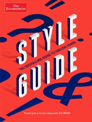 cover image of Style Guide