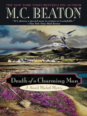 cover image of Death of a Charming Man