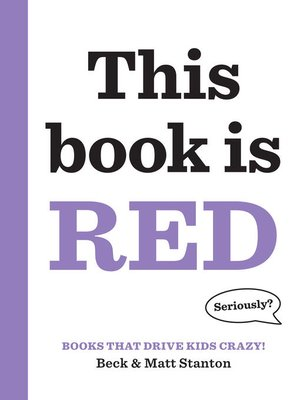 cover image of This Book Is Red