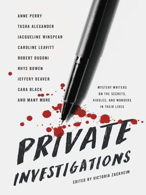 cover image of Private Investigations