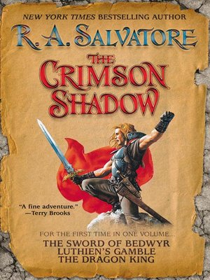 cover image of The Crimson Shadow