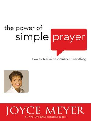 cover image of The Power of Simple Prayer
