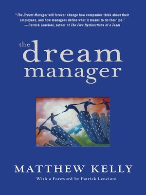 cover image of The Dream Manager