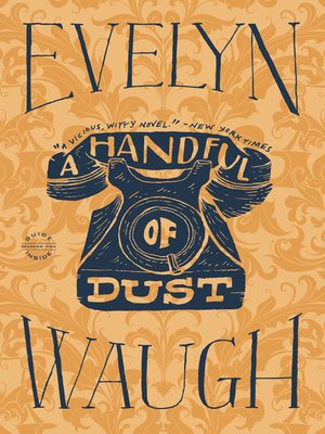 cover image of A Handful of Dust