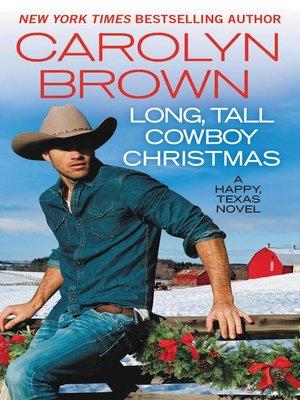 cover image of Long, Tall Cowboy Christmas