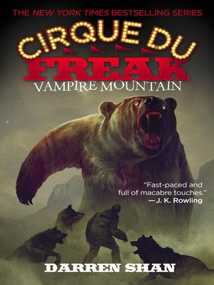 cover image of Vampire Mountain