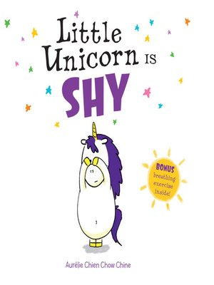 cover image of Little Unicorn Is Shy