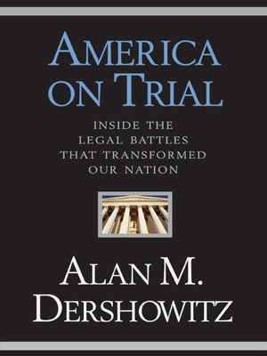 cover image of America on Trial