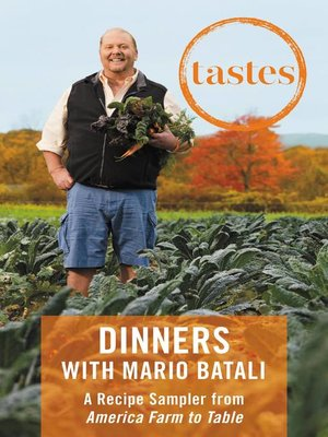 cover image of Dinners with Mario Batali