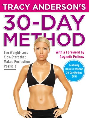 cover image of Tracy Anderson's 30-Day Method