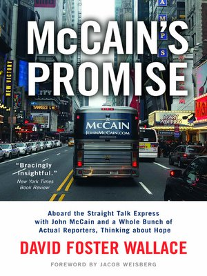 cover image of McCain's Promise