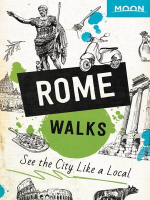 cover image of Moon Rome Walks