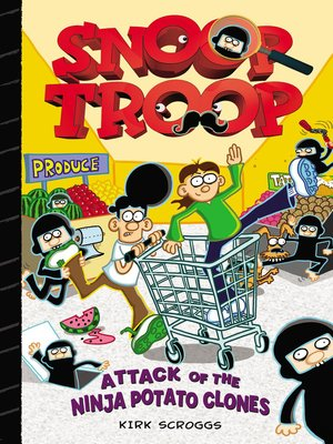 cover image of Attack of the Ninja Potato Clones