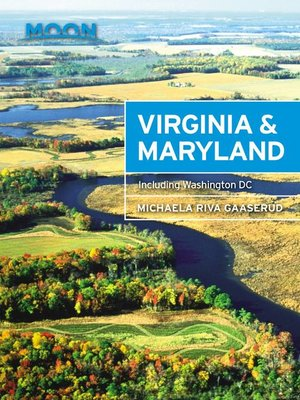 cover image of Moon Virginia & Maryland