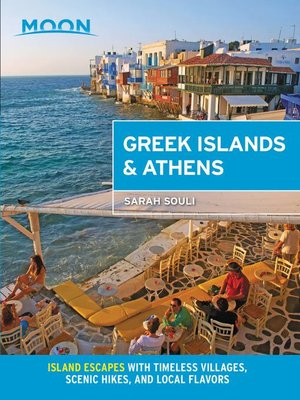 cover image of Moon Greek Islands & Athens