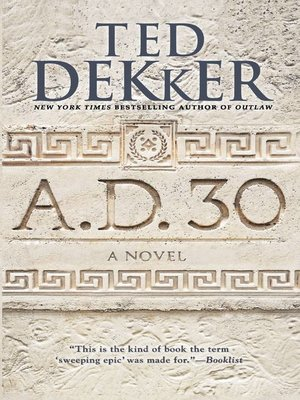 cover image of A.D. 30--A Novel