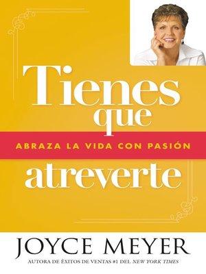 cover image of Tienes que atreverte