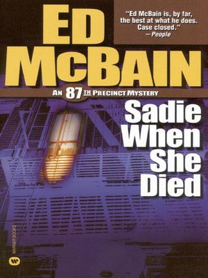 cover image of Sadie When She Died