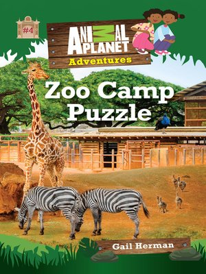 cover image of Zoo Camp Puzzle