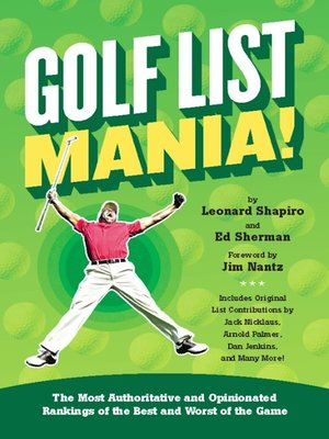 cover image of Golf List Mania!