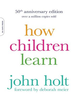 cover image of How Children Learn