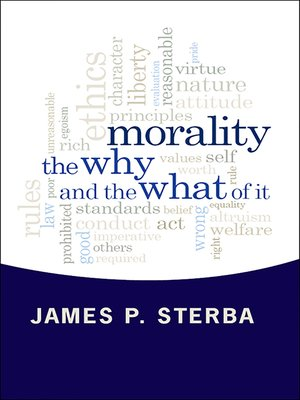 cover image of Morality
