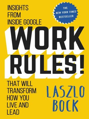cover image of Work Rules!