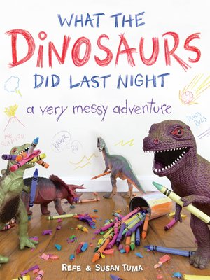 cover image of What the Dinosaurs Did Last Night