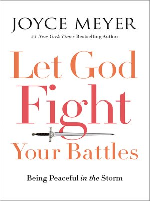 cover image of Let God Fight Your Battles