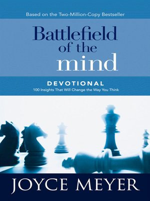 cover image of Battlefield of the Mind Devotional