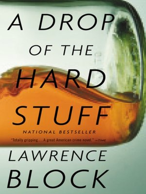 cover image of A Drop of the Hard Stuff