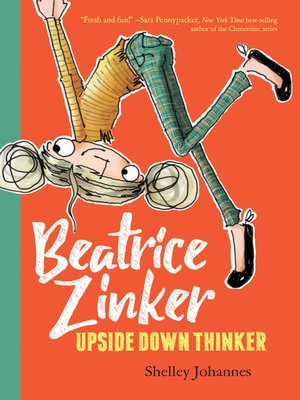 cover image of Beatrice Zinker, Upside Down Thinker Series, Book 1