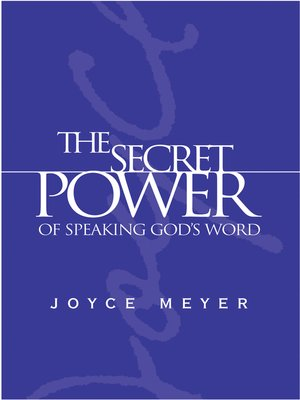 cover image of The Secret Power of Speaking God's Word