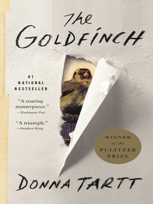cover image of The Goldfinch
