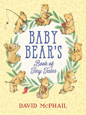 cover image of Baby Bear's Book of Tiny Tales
