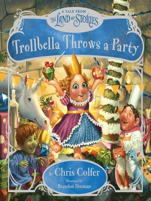 cover image of Trollbella Throws a Party
