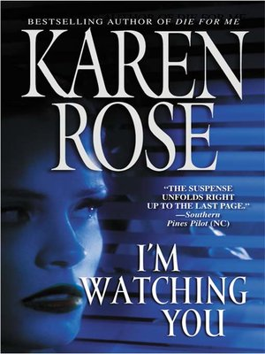 cover image of I'm Watching You