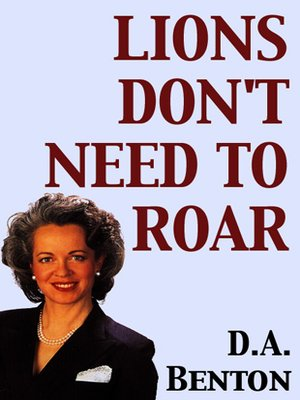 cover image of Lions Don't Need to Roar