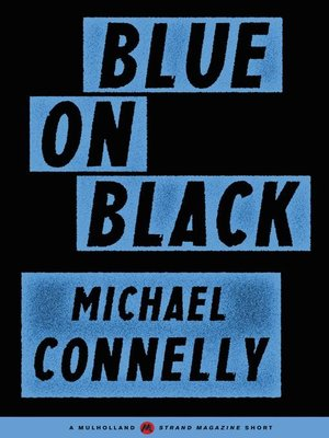 cover image of Blue on Black